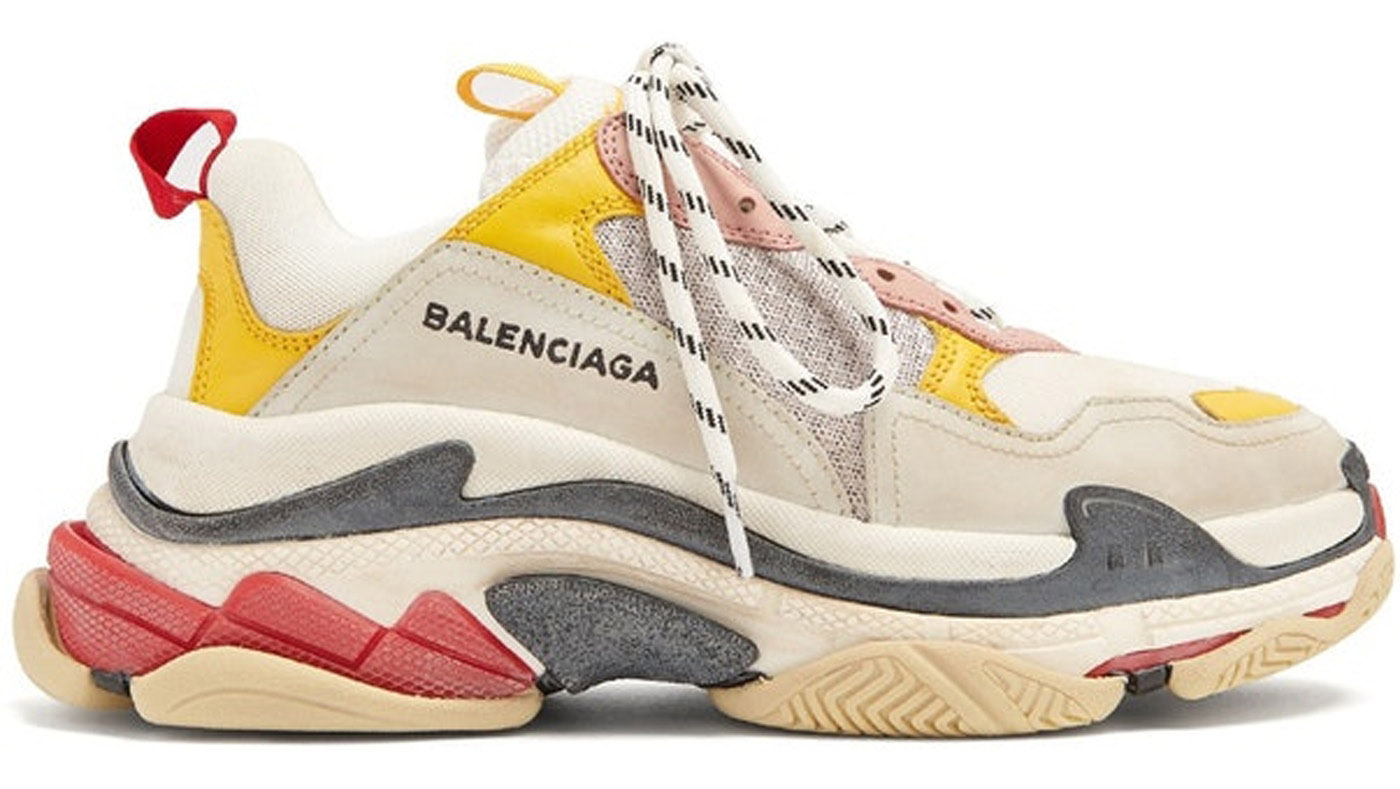 One Of These Chunky Sneakers Is Not