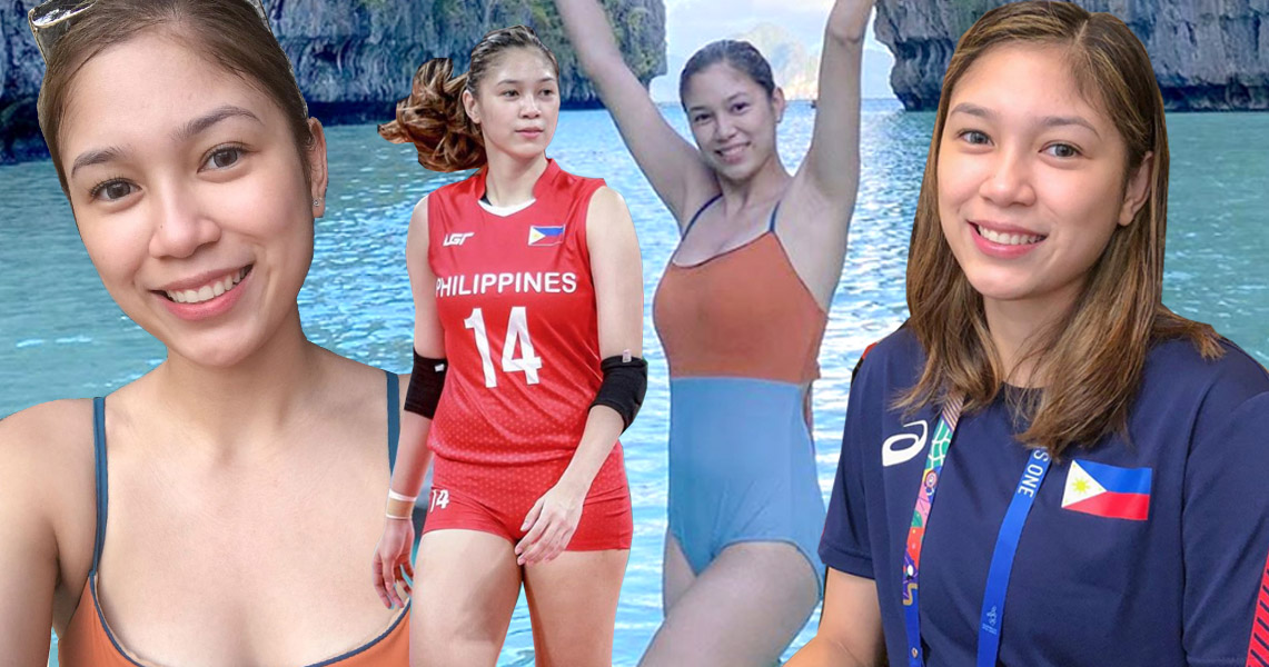 Mika Reyes Volleyball Superstar Is Now A Celebrity Vlogger Ao All Out